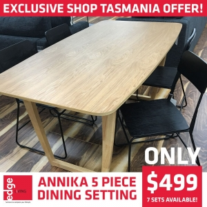Massive savings on the Annika 5 Piece Dining Setting