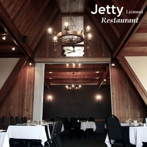 Dine in at The Jetty Restaurant