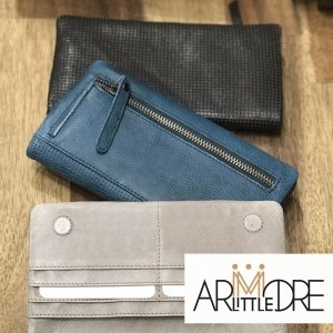 Samantha Soft Leather Perforated Detail wallet