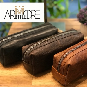 Mini Travel Leather Case