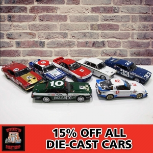 15% Off All Diecast Cars