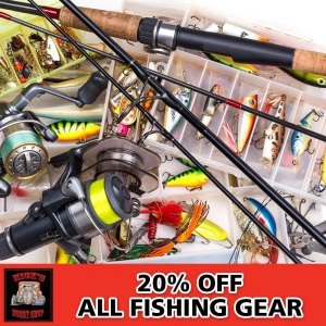 20% Off All Fishing Gear
