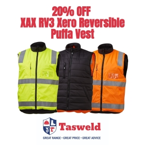 20% off XAX RV3 Xero Reversible Puffa Vest