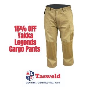 15% Discount on Yakka Legends Cargo Pants