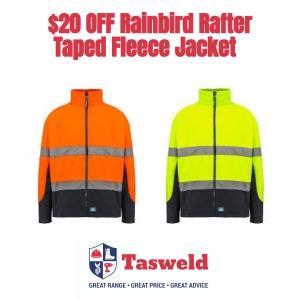 $20 Off Rainbird Rafter Taped Fleece Jacket