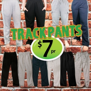 Trackpants just $7 a pair