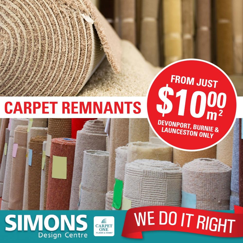 Carpet Remnants Shop Tasmania