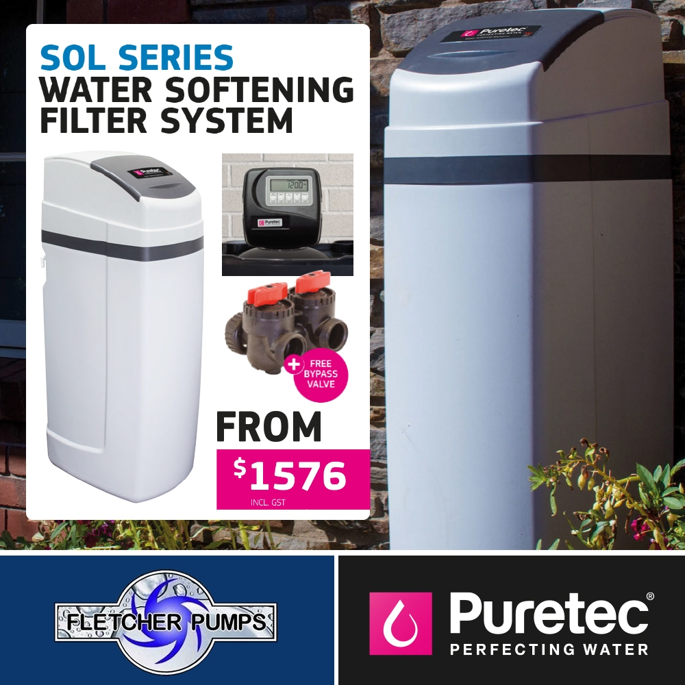 Sol Series - Water Softening Filter System