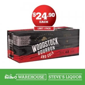 Woodstock Bourbon & Cola 10 Pack