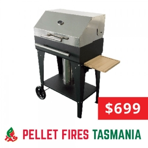 Hooded Pellet Grill Barbeque (B2)