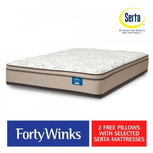 Serta Mattress and free pillow offer