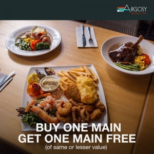 Buy One Main Meal - Get One Main Meal Free - Argosy Motor Inn