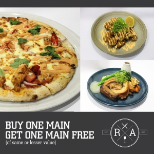 Buy One Main Meal – Get One Main Meal Free - The River Arms