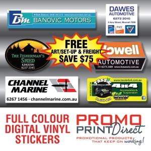 Promo Print Direct – Digital Vinyl Stickers Offer