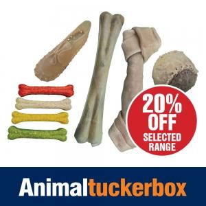 20% Off Rawhide Dog Treats