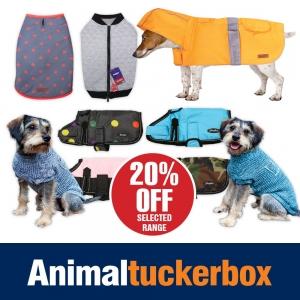 20% Off Dog Coats, Jumpers & Jackets