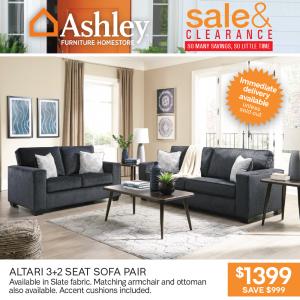 Altari 3+2 Seat Sofa Pair