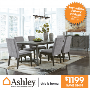 Besteneer 7-piece Dining Setting only $1199