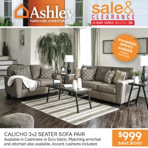 Calicho 3+2 Seater Sofa Pair