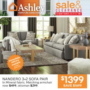Nandero 3+2 Sofa Pair