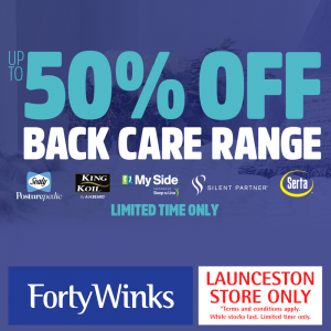 Forty Winks Launceston Back Care Sale