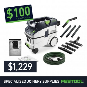 Festool HEPA L Class Dust Extractor CT26l E + FREE $100 Voucher*