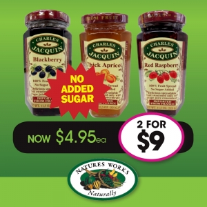 Charles Jacquin 100% Fruit Spread