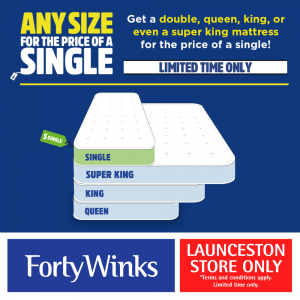 Any Size Mattress For The Price Of A Single