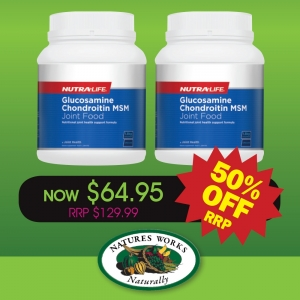 NutraLife Glucosamine Chondroitin MSM Joint Food 1.8kg