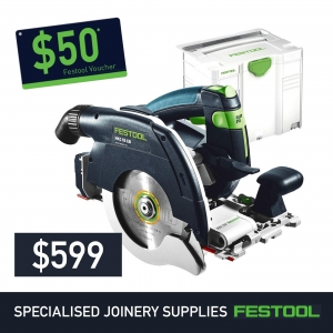 Festool 160mm Cordless Circular Saw HKC 55 + FREE $50 Voucher*