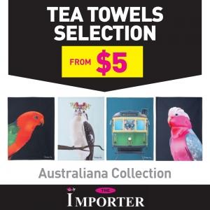 Australiana Collection Tea Towels