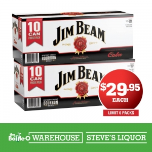 Jim Beam & Cola 4.8% 10 Pack