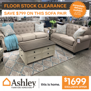 Kieran 3+2 Sofa Pair only $1699