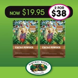 Power Super Foods Cacao Powder 1kg