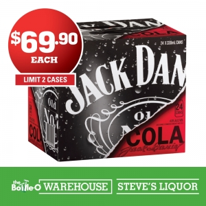 Jack Daniel's & Cola 4.8% 330ml Cube