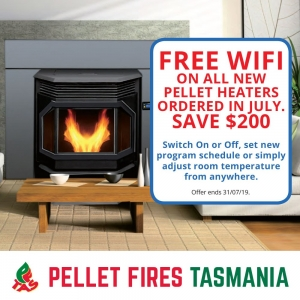 Free WIFI on New Pellet Heaters