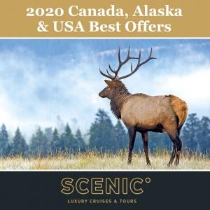 Experience Canada, Alaska & USA in 2020