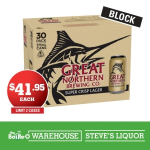 Great Northern Super Crisp Larger - 30 pack