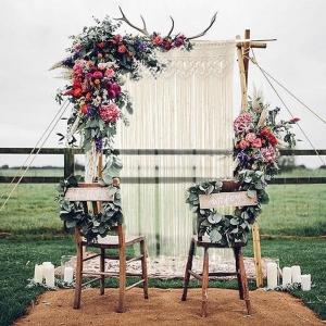 Macrame Wedding Backdrop/Wall Hanging