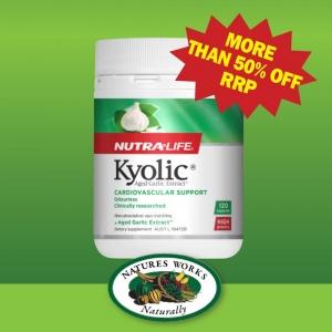 Nutralife Kyolic Aged Garlic Extract 120 Caps