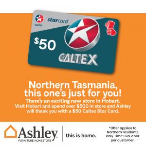 Northern Offer – $50 Fuel Card Offer