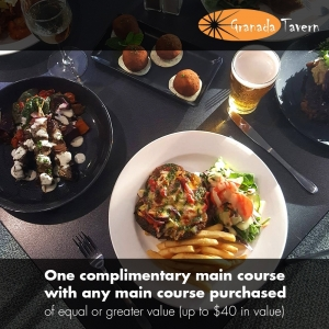Buy One Main Meal – Get Another Main Meal FREE - Granada Tavern