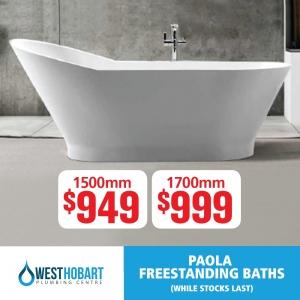 Paola Freestanding Baths