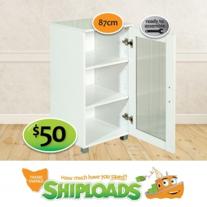 3 Shelf Storage Cupboard