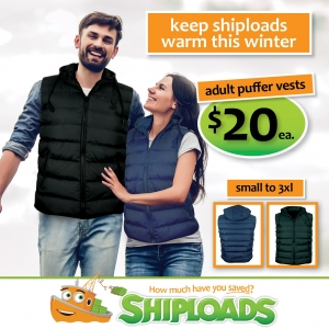 Adult Puffer Vests