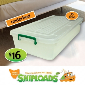 35 Litre Underbed Storage Tub