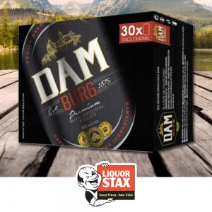 Dam Burg Belgian Lager – 30 Pack