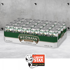Weidmann German Beer  (24 Pack)