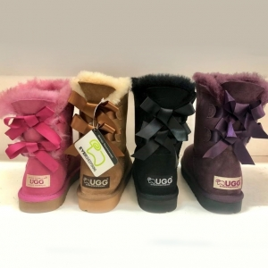 Two Ribbon Ugg Boots