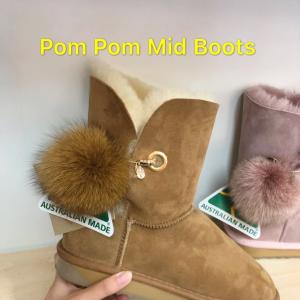 Pom Pom Mid Ugg Boots